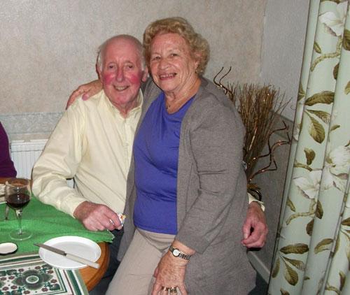 Mum and her new boyfriend, Derek