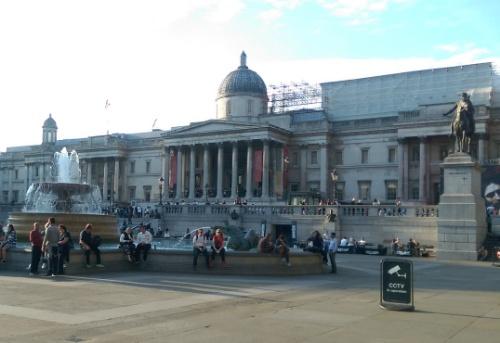 The National Gallery, Trafalgar Square